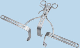 Self-Retaining Tension Retractor
