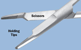 Orthopedic Needle Holder/Scissors