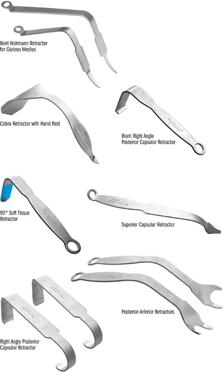 Minimal Incision Total Hip Retractors