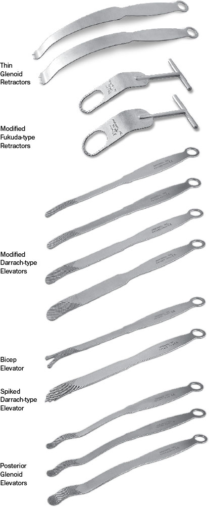 Shoulder Retraction Instruments