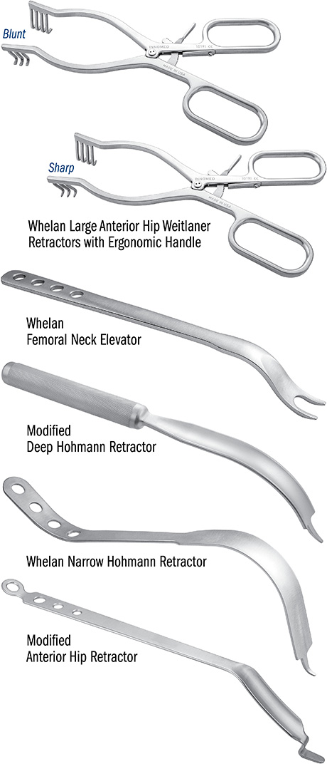 Basic Anterior Approach Instrument Set