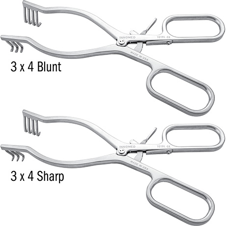 Whelan Large Anterior Hip Weitlaner Retractor